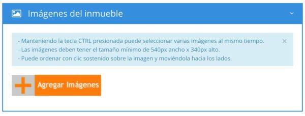 5 recomendaciones para publicar tus inmuebles en páginas web inmobiliarias: Agregar Imágenes