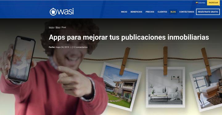 Claves para la fotografía Inmobiliaria - Apps para mejorar publicaciones - Software Inmobiliario Wasi