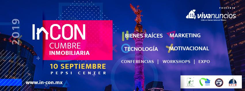 Cumbre Inmobiliaria InCON 2019 Ciudad de México