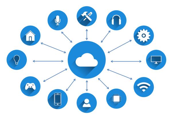 Despliegue de múltiples utilidades en un software inmobiliario.
