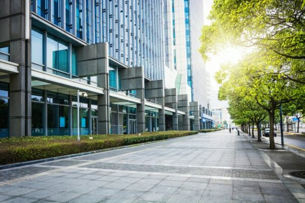 centro de negocios en el mercado inmobiliario