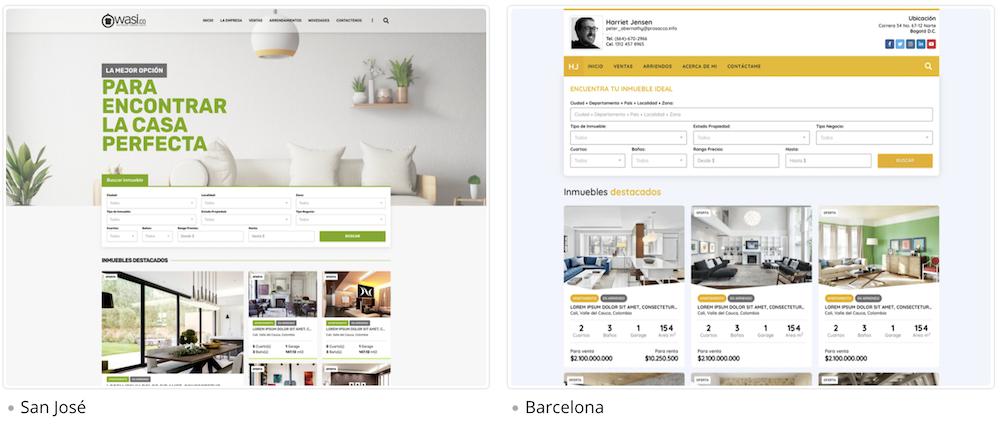 Mejoras de Wasi julio 2020 Páginas web para inmobiliarias