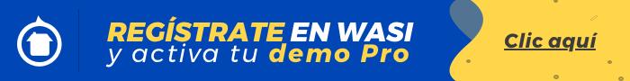 Activa tu demo pro - CRM inmobiliario Wasi