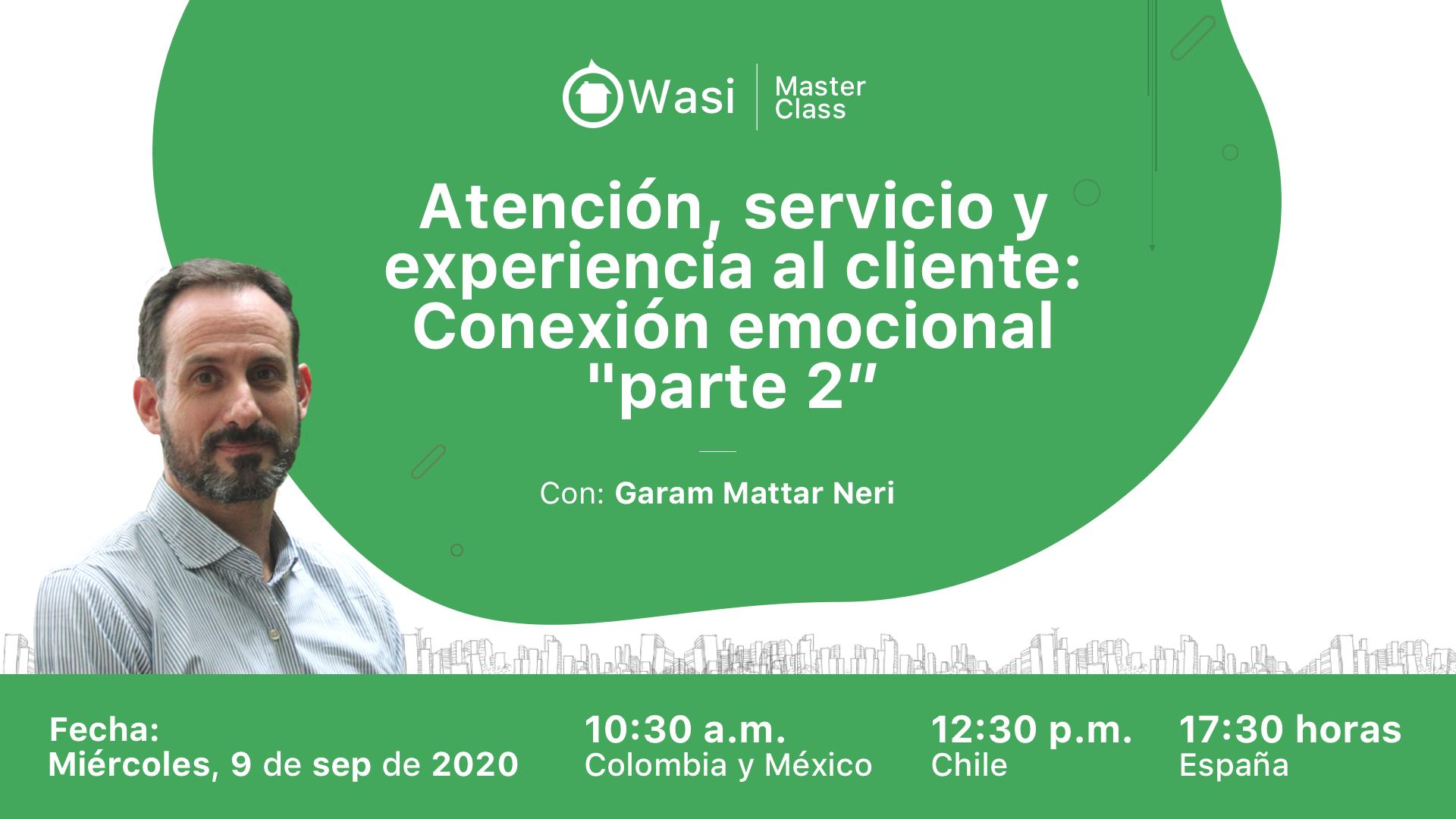 """Atención, servicio y experiencia al cliente: Conexión emocional """"Parte 2"""""""