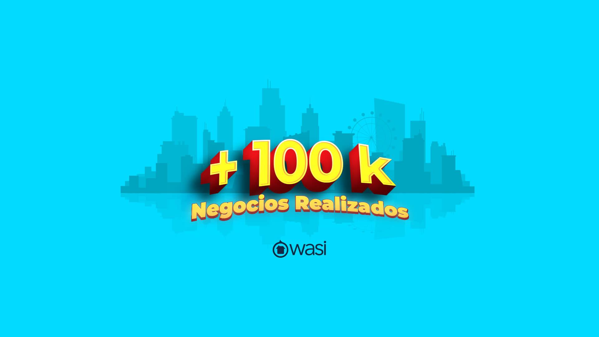 Son más de 100.000 negocios de bienes raíces realizados y seguimos en aumento